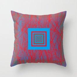 con_centration Throw Pillow