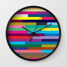 Lignes 13 Wall Clock