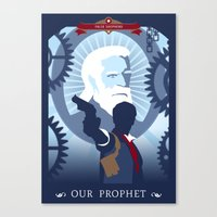 bioshock infinite Canvas Prints featuring Bioshock Infinite by Spiritius