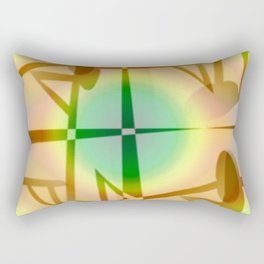 Pattern after earthquake ... Rectangular Pillow