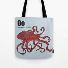giant pacific octopus Tote Bag