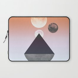 Moon Triangle Laptop Sleeve