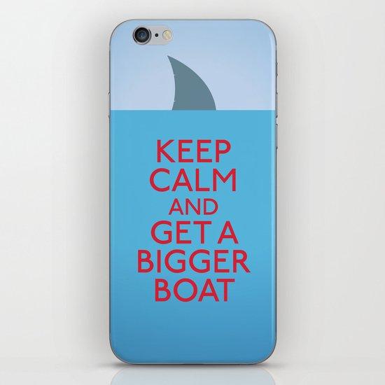 Get a bigger boat iPhone Skin