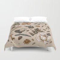 georgia Duvet Covers featuring Georgia Nature Walks by Jessica Roux