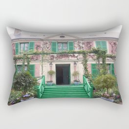 Monet House Rectangular Pillow