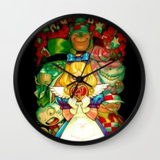 Hello Alice Wall Clock