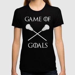 Game Of Goals Lacrosse Shirt T-shirt