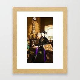 Kangxi's Queen Framed Art Print