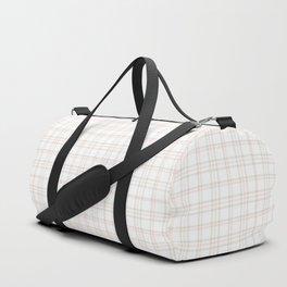 Cute Plaid 1 Duffle Bag