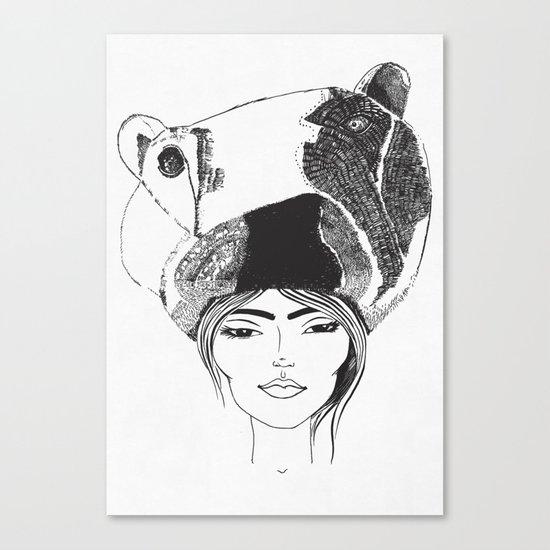 PolarGirl Canvas Print