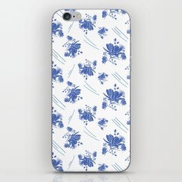 Cosmos on a Windy Day iPhone Skin