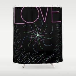 Loving You Hurts Me Shower Curtain