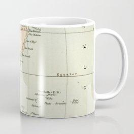 North East Africa Vintage Map Coffee Mug