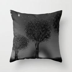 THREE TREES - 030 Throw Pillow
