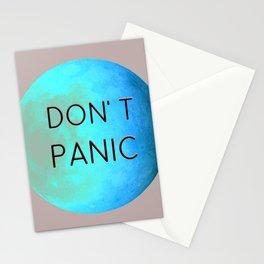 "Elon Musk Mars ""DON'T PANIC"" Stationery Cards"