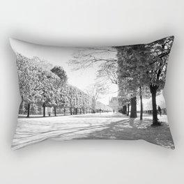 Jardin des Tuileries Rectangular Pillow