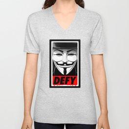 Defy Unisex V-Neck