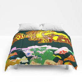 Giant Grouper Fish Comforters