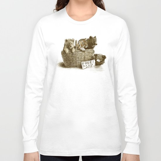 Lions and Tigers and Bears Long Sleeve T-shirt