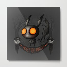 Pocket Monster #025 Metal Print