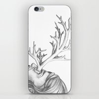 fawn iPhone & iPod Skins featuring Fawn by Tooth & Arrow Co