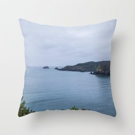 Bewitching Blue Throw Pillow
