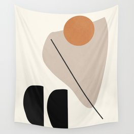Abstract Shapes 61 Wall Tapestry