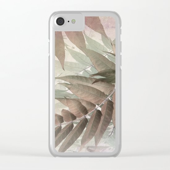 Nosalgia Clear iPhone Case