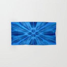 Blue plastification Hand & Bath Towel