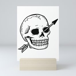 Dead but OK Mini Art Print