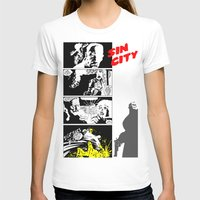 sin city T-shirts featuring Sin City by FYeahMelissa