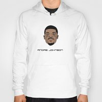 allyson johnson Hoodies featuring Andre Johnson by Λdd1x7