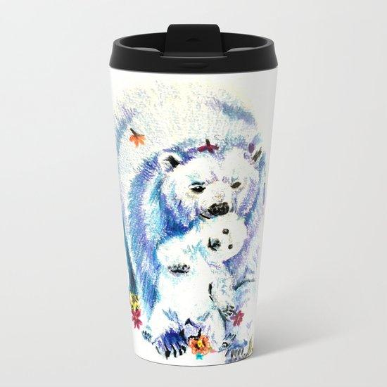 Mama Bear Lovin Metal Travel Mug