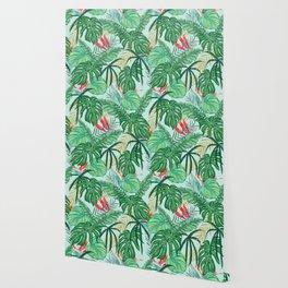 The Tropics ||| #illustration #tropical Wallpaper