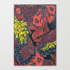 DECEMBLOB Canvas Print