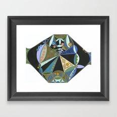 Season Wheel Framed Art Print