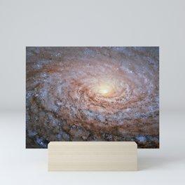 1305.  A galactic sunflower Mini Art Print