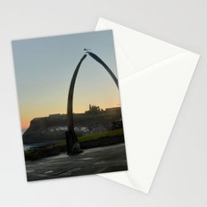 Whitby Whalebone Golden Hour Stationery Cards