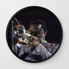 Jazz player: Freddie Hubbard Wall Clock