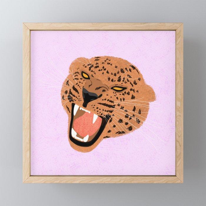 Roar Framed Mini Art Print