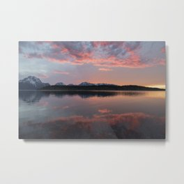 A Teton Experience Metal Print