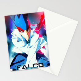 Melee | Falco - Blue Stationery Cards