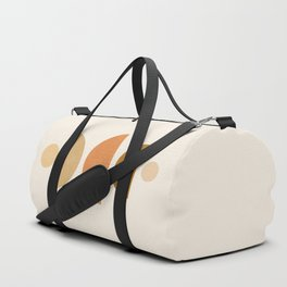 Abstraction_Geometric_Shape_Moon_Sun_Minimalism_001D Duffle Bag