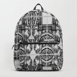 Azulejo in Black and White Backpack