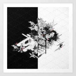 Schema 82 Art Print