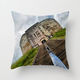 York Castle Throw Pillow