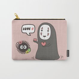 Studio Ghibli No-Face in Love of SootBall Carry-All Pouch