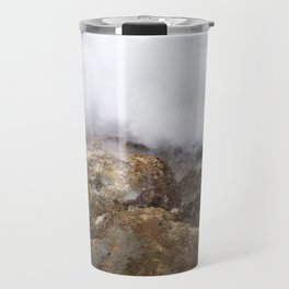 geothermal steam Travel Mug
