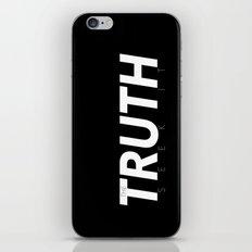 The Truth  iPhone & iPod Skin
