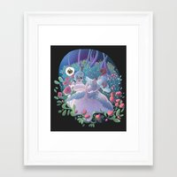 marie antoinette Framed Art Prints featuring Marie Antoinette by FantaFumino